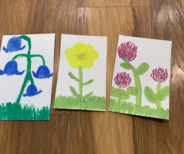 Plant Paintings - Evie