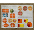 Looking at Quarters of Shapes and Pictures - Evie