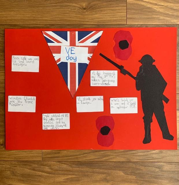 What is VE Day? Evie