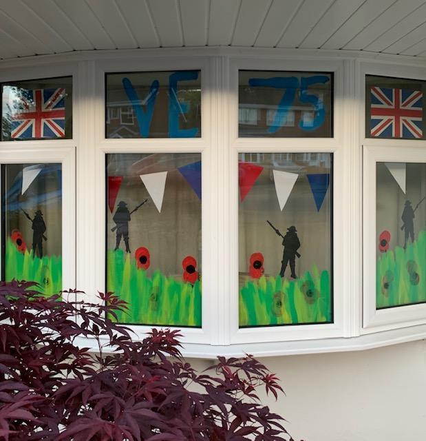 Decorated Window - Evie