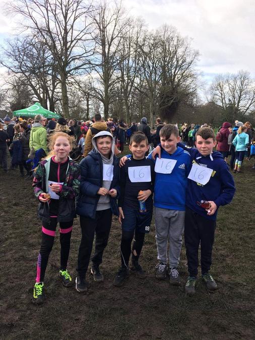 Year 6 runners
