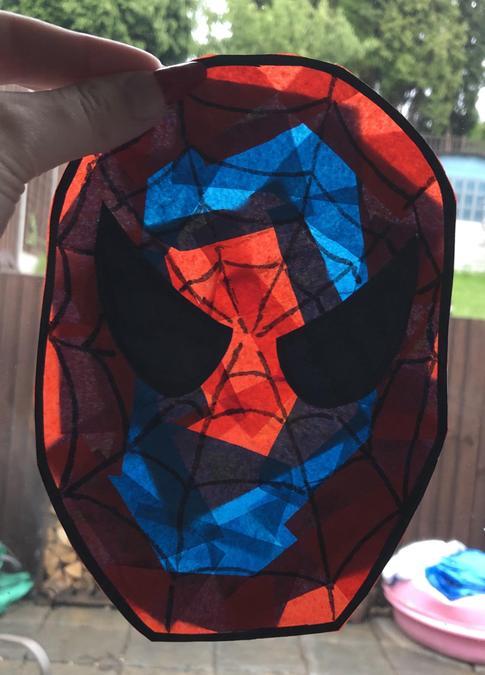 Spiderman Sun Catcher - Archie