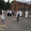 Playing Victorian playground games