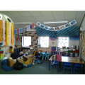 Come and explore our Ocean themed classroom