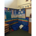 Our quiet work and reading area.