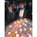 Celebrating Diwali with our Diyas