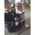 Team work - making a stickman