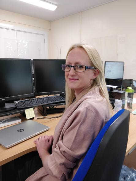 Jen Godfrey, Cluster Finance Assistant