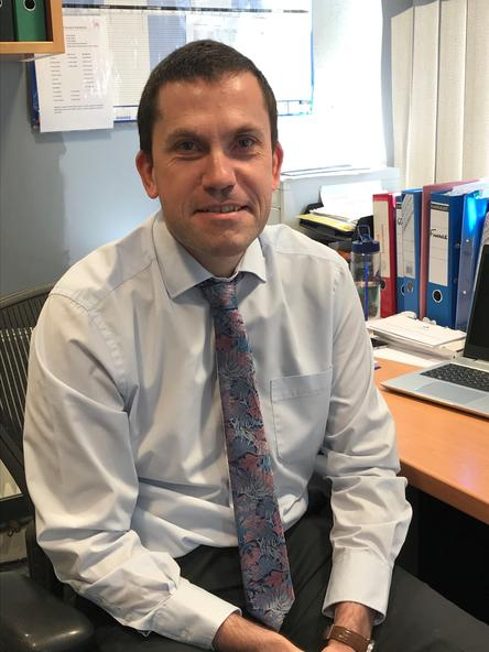 Chris Reed, Academy Management and Reporting Accountant