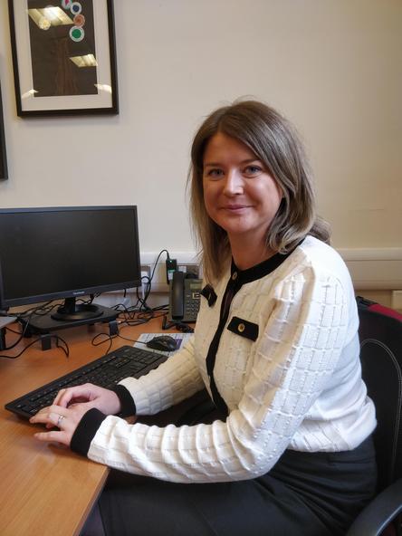 Carmen McMahon, HR Business Partner