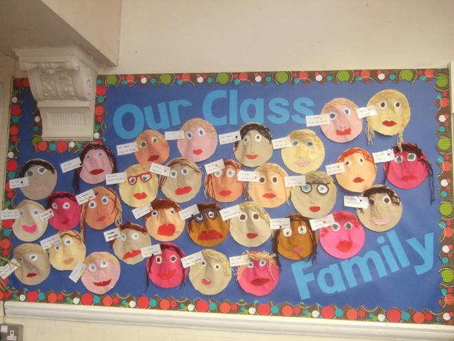 Year 4 welcome board