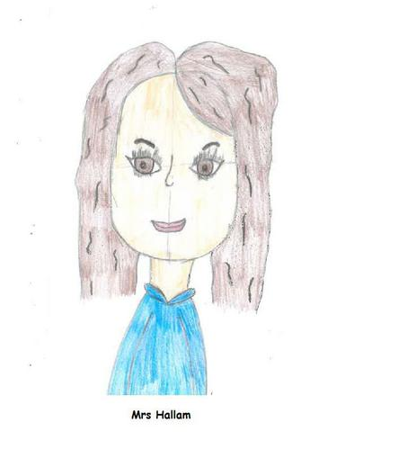 Mrs. Hallam, Teaching Assistant