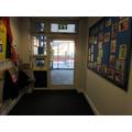 Nursery cloak room
