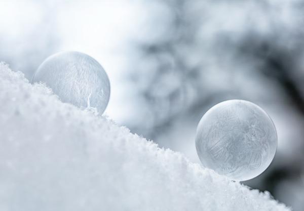 Frozen bubble experiment
