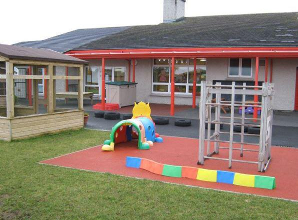 Outside play equipment