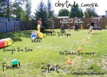 Design your own obstacle course