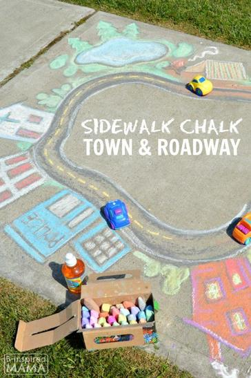 Get creative with chalk