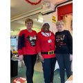Ms Santa & her lovely Lunchtime Elves!