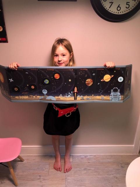 Zosia's Solar System Work