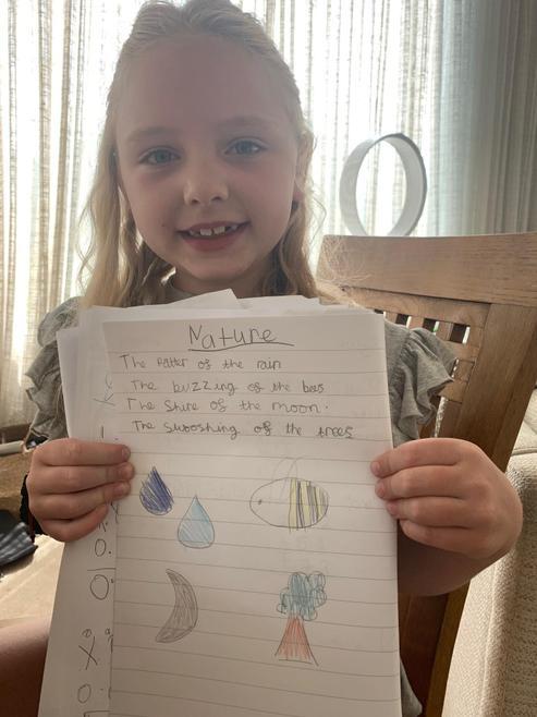 Mila's Nature Poem