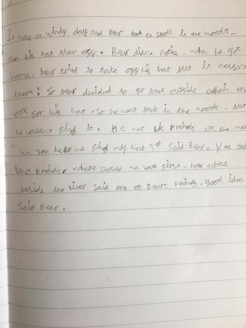 Zach's Writing
