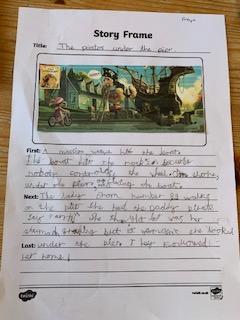 Freya's beautiful big write