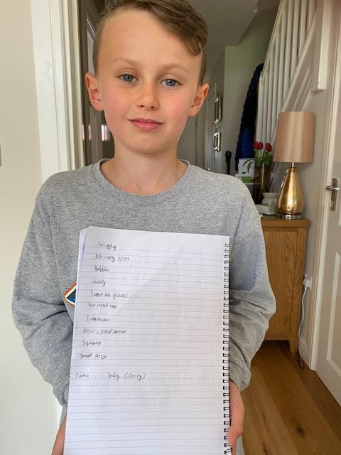 Rory's Poem