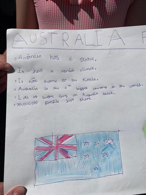 Mila's Australia Poster