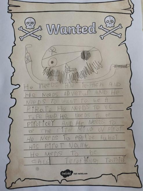 Elodie's wanted AD