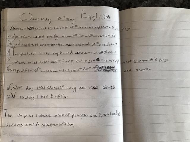 Billy's Letter
