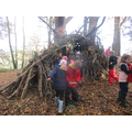 We found a den!