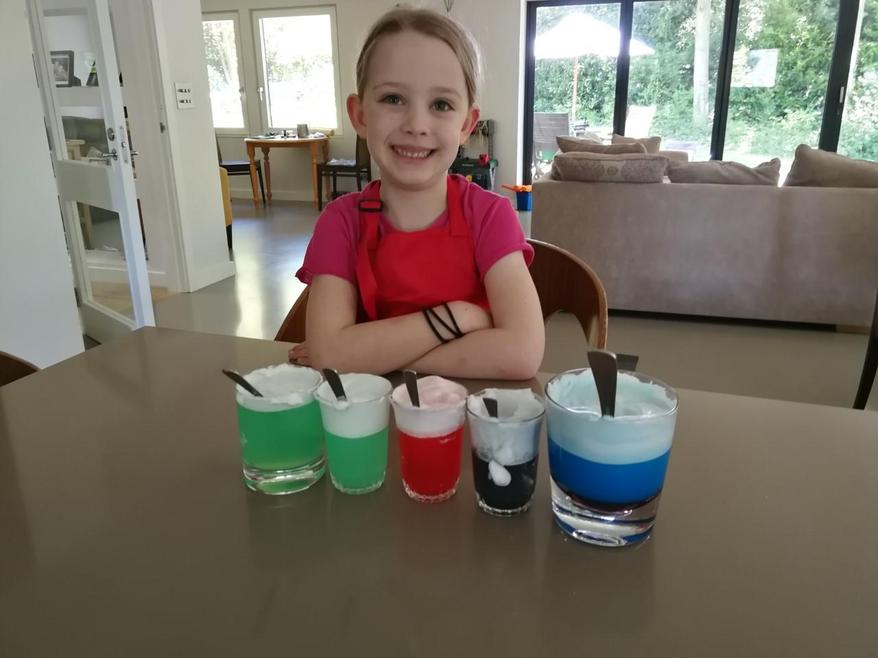 Storm in a cup science experiment