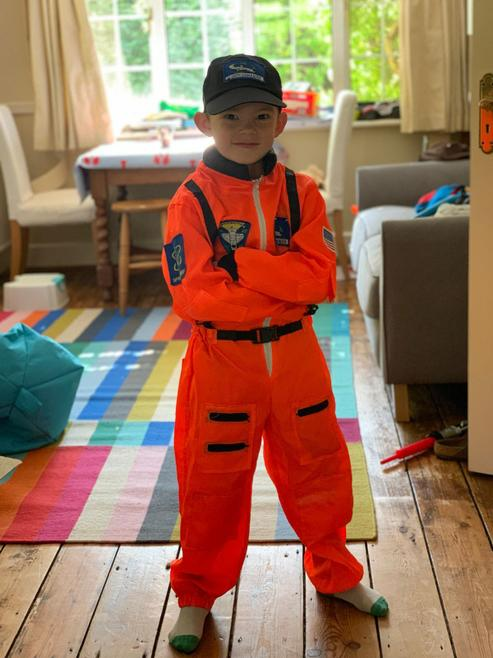 Astronaut Rory explores space