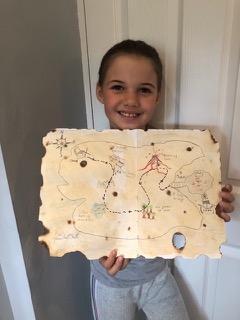 Lara's Treasure Map