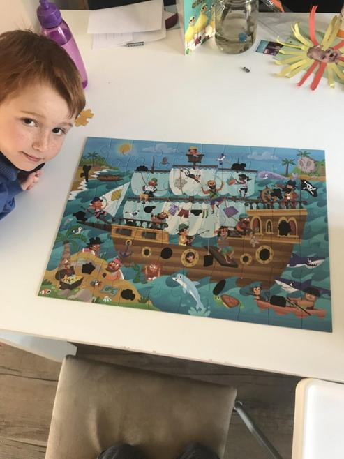 Great pirate puzzle