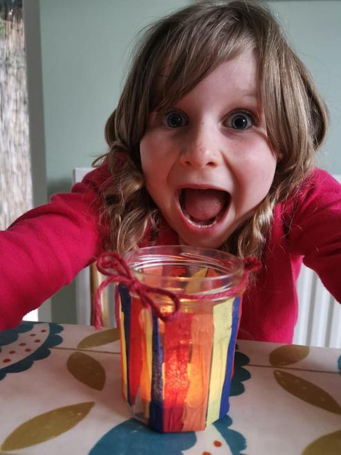 Elodie's glowing jar