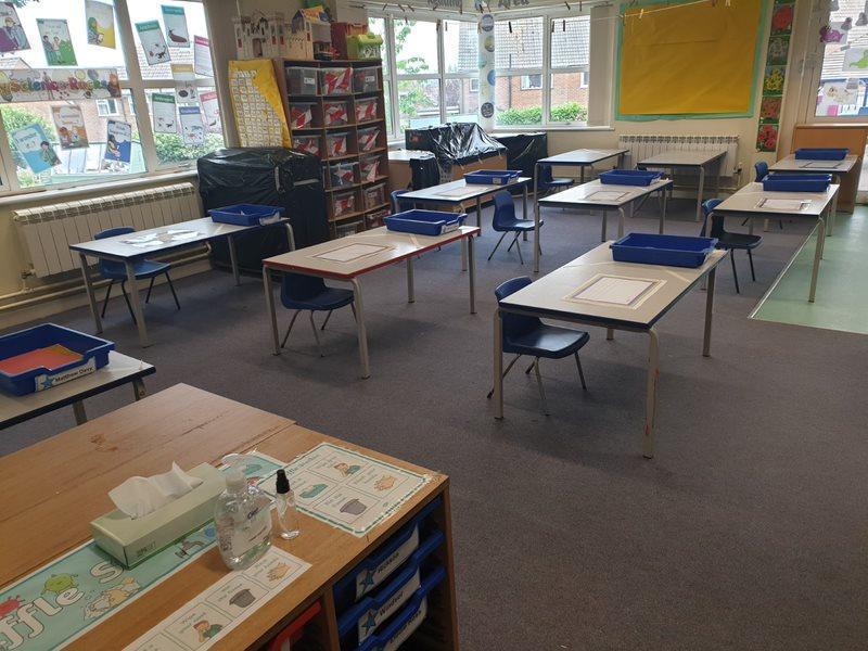 Opal Classroom set up