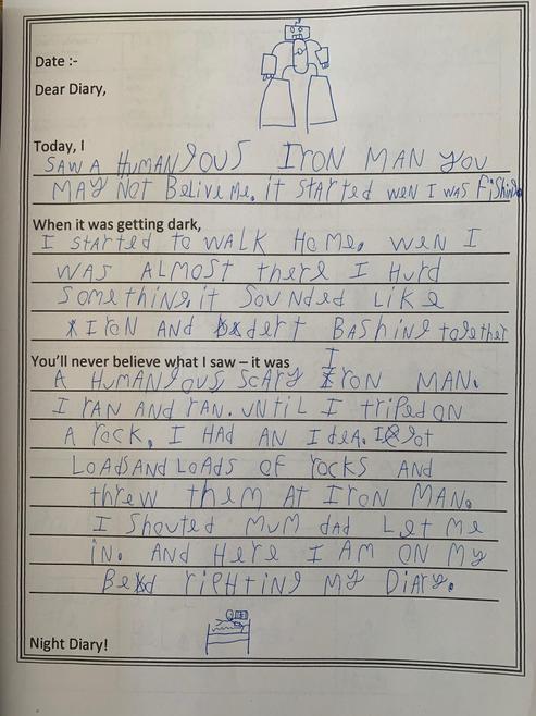 Richard's Diary