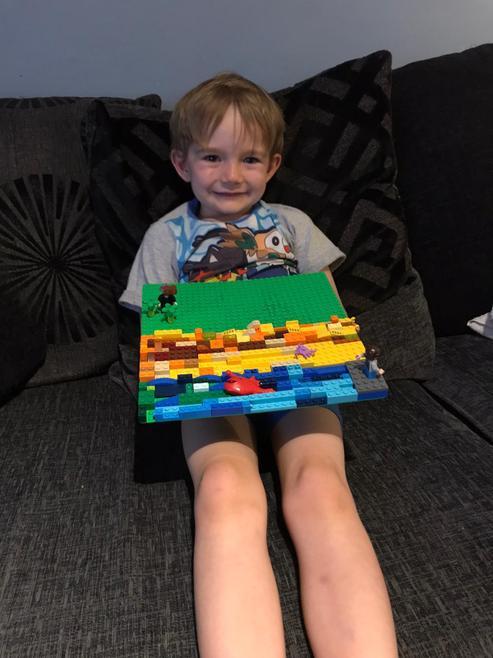 Max's lego collage