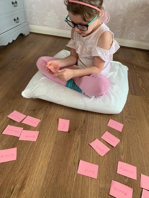 A.Belle sorting alien words