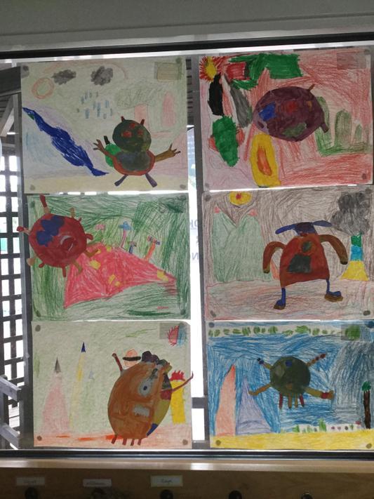 Kandinskys monsters Year 2