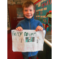 Finlay made a 'Potter' poster.