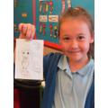 Francesca drew Hermione.