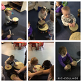 We can play the drums