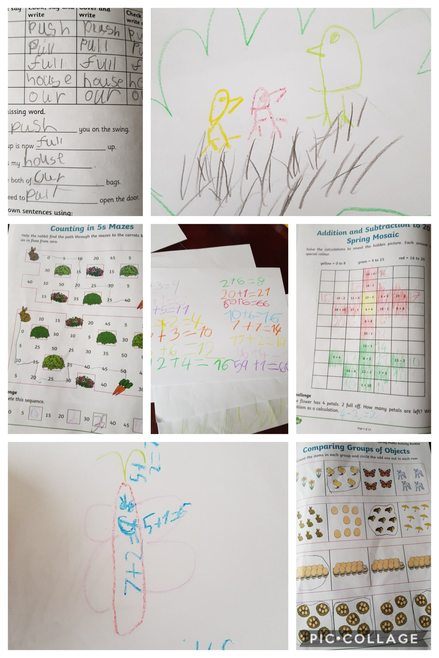 Maths and Spelling Activities