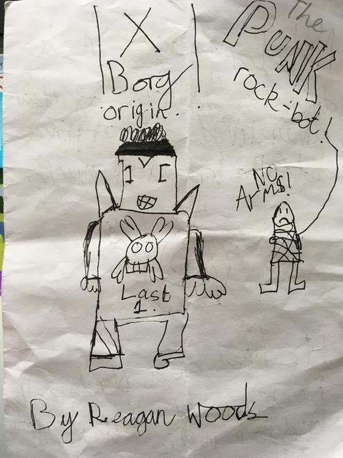 Reagan's comic page 1