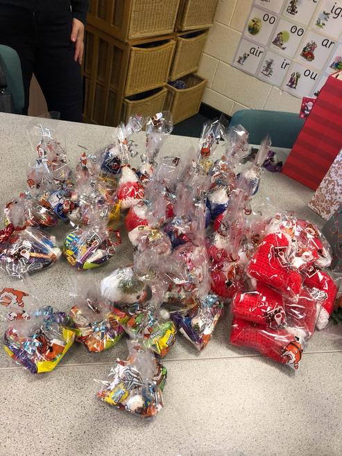 Stocking fillers for Dovecot families.