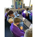 Re-applying Computing learning to writing.