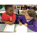 Peer support: challenge at Y7 Maths.