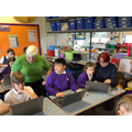 Supporting learning: re-applying computing skills.
